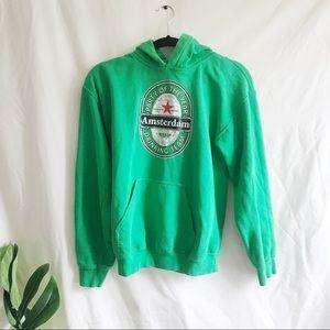 Vintage Heineken Sweatshirt In Green - Amsterdam